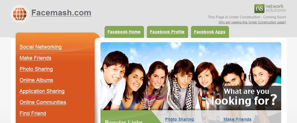 脸谱前身网站近3万美金出售 域名买家不详